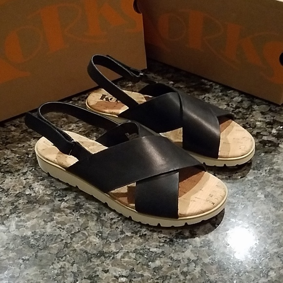 668f12cd0fbc Kork-Ease Shoes - Korks by Kork-ease Sweeney Black Sandals